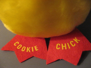 Cookie Chick feet